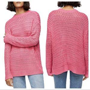 NWT ANINE BING Juliette Sweater in Pink